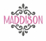 New Year Monogram or Name Frame